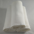 Large cheesecloth baby wrap / swaddle / receiving blanket - PEARL
