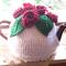 Handmade Tea Cosy (Red Roses)
