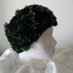 Head Warmer - Black and Green