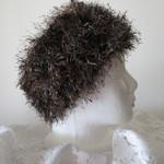 Head Warmer - Brown and Metallic