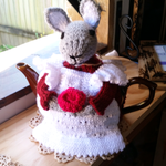 Handmade Tea Cosy (Mrs Rabbit)