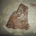"""""""Celtic Wolf"""" Reading/Pocket Cushion (cover only)"""