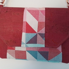Raspberry Carousel Clutch/Bag