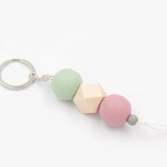 Pastel Pop Keyring