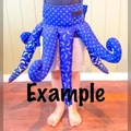 Octopus Skirt and Hood ages 3-5
