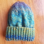 Hand knitted beanie (100% Australian Pure New Wool)