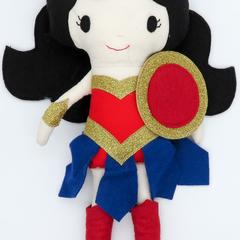 Wonder Woman Inspired Doll