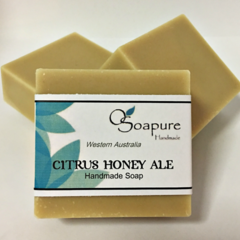 Citrus Honey Ale (Beer Soap) | Cold Process & Handmade in the Swan Valley, WA.