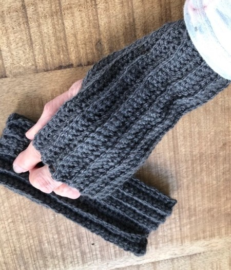 Deb's Crocheted Mittens