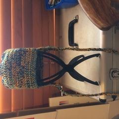 Crocheted Ear Flap Hat Adult