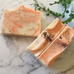 Vegan Sweet Orange & Poppyseed Soap