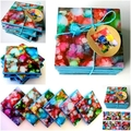 Set of 6 Ceramic Tile Coasters