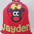 Personalised Character Santa Sacks - long name (over 5 letters)