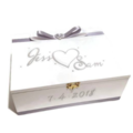 Silver & White Wedding, Keepsake, Trinket, Memory, Jewellery, Wooden Box