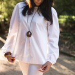 Women's Long Sleeve Top in Linen