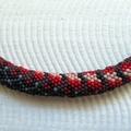 Red Belly Black Snake Necklace