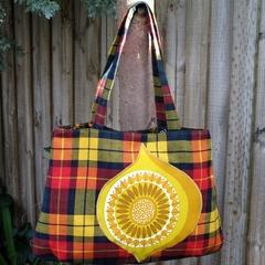 Vivienne- Wool tote bag