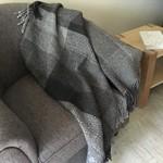 Handwoven Throw or  Lap Blanket