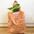 Reusable shopping bag - llama tote bag