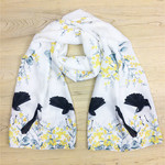 Willy Wagtail Scarf