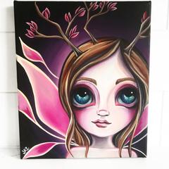 Original Fairy Painting by Jaz Higgins