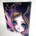 Original Fairy Painting by Jaz Higgins