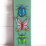 """Glitter Bugs"" Original Painting by Jaz Higgins"