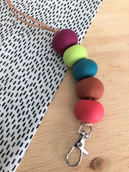 OLLEY 5 bead Lanyard