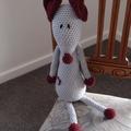 Maurice the house mouse : Unisex, OOAK, washable, crochet