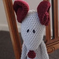 Maurice the house mouse : Unisex, OOAK, washable, crochet