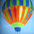 """""""Hot Air Balloon"""" Reading/Pocket Cushion  (cover only)"""