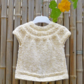 Baby cardigan with short sleeves:  Size  1