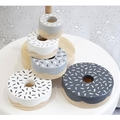 Grey DONUT stacker.
