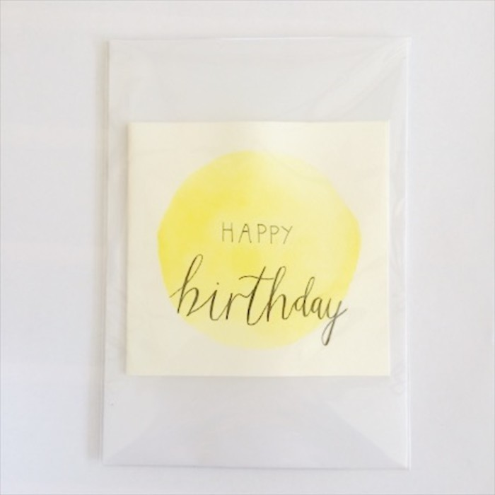 Happy Birthday Card Yellow Rose Amelia Madeit Com Au