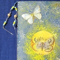 'Butterflies and Music' Hand Made Notebook and Paper