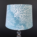 Coastal Lampshade. Coral Coast.