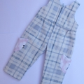 'Peter Rabbit' overalls for 18 inch doll