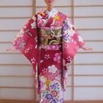 doll clothes kimono set for Barbie dolls and similar sized dolls handmade