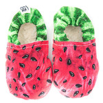 Watermelon soft soled shoes