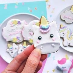 Unicorn Cookies // Unicorn Biscuits //