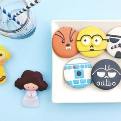 Star Wars Themed Cookies