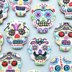 Day of the Dead  Cookies // Halloween Cookies