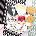 Wedding Cookie Samples // Wedding Favours // Wedding Biscuits