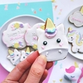 Unicorn Cookies // Unicorn Biscuits //