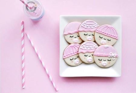 Baby Face Cookies // Baby Shower Cookies