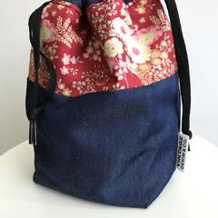 Red Vintage Floral Bag