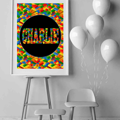 Custom Birthday Party Poster - Digital Delivery