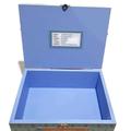 Peter Rabbit Blue Time Capsule, Keepsake, Trinket, Treasure, Wooden, Baby Box