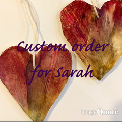 Custom order for Sarah - two fragrance diffusers