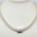 Silver Slider Necklace